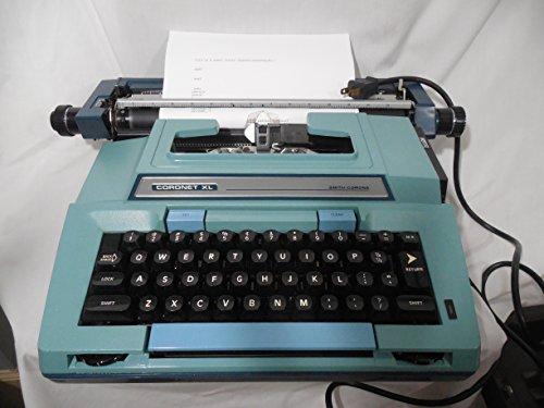 Price comparison product image Coronet XL Coronamatic Blue Vintage Electric Typewriter model 6E