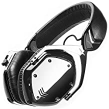 V-MODA Crossfade Wireless Over-Ear Noise Isolating Headphones, Phantom Chrome