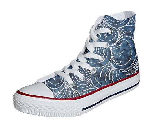 Converse All Star Customized - zapatos personalizados (Producto Artesano) Spake Paisley