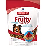 Hill'S Science Diet Fruit Dog Treats, Crunchy Fruity Snacks With Cranberries & Oatmeal Dog Snacks, Healthy Dog Treats, 8 Oz Bag