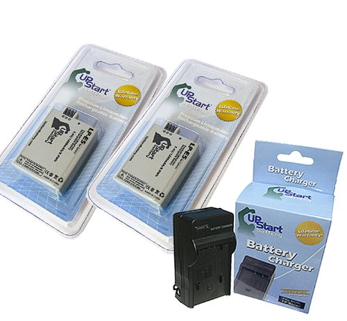 2x Pack - Canon EOS Rebel XS Battery + Charger - Replacement
