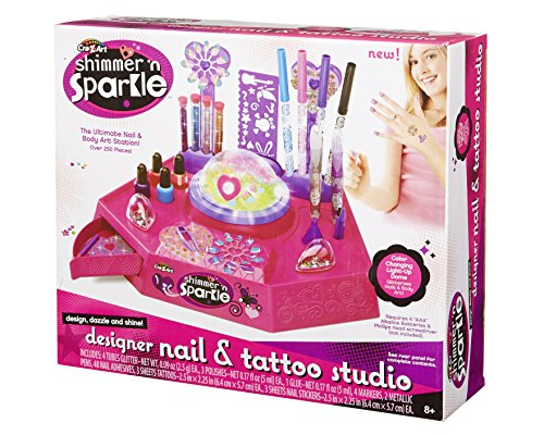 Cra Z Art Shimmer N Sparkle Nail And Tattoo Studio Import It All