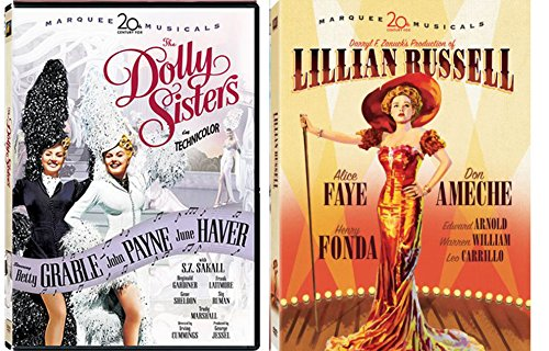 (Dolly Sisters & Lillian Russell Marquee 20th Century Fox Marquee Musicals 2-DVD Bundle )