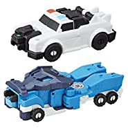 Transformers Robots In Disguise Crash Optimus Prime & Strongarm Action Figure