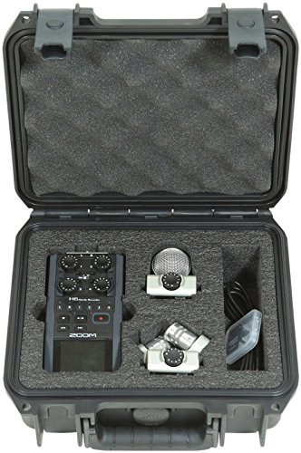 Zoom H6 Portable Stereo Recorder & SKB 3i-0907-4-H6 Waterproof Hard Case - Bundle by Zoom (Image #2)