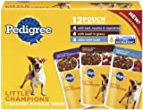Pedigree Little Champions Casserole Combo Pack Food for Dogs, 5.3-Ounce Pouches (Pack of 48), My Pet Supplies