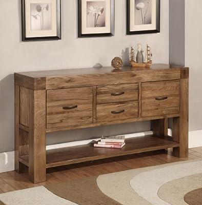 oak furniture house devon konsole hall tisch wieder eiche massiv mobel