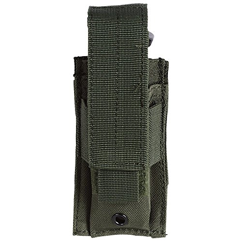 Pistol Belt Olive Drab (VooDoo Tactical Men's Pistol Mag Pouch, Olive Drab)