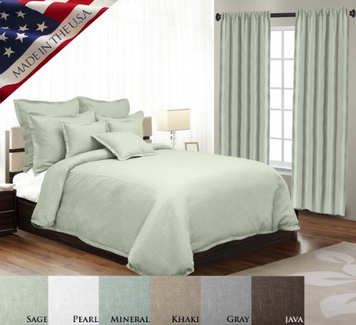 Hot Sale 2017 Veratex Gotham Collection Contemporary Style Luxury 100% Linen  Made In The U.S.A.