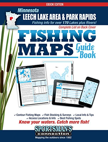 (Northern Minnesota - Leech Lake & Park Rapids Area Fishing Map Guide)