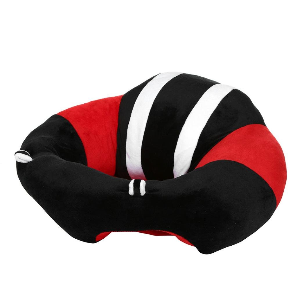 Kanzd New Soft Baby safety Seat Nursing Pillow U Shaped Infant Safe Dining Chair Cushion (Black)