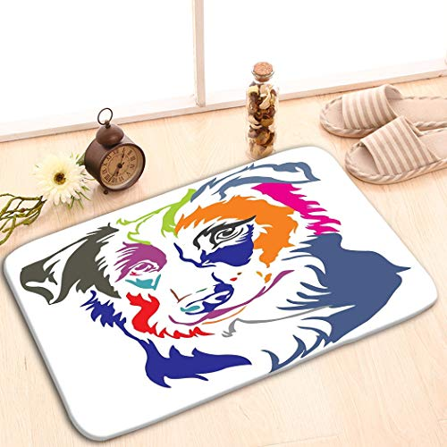 zexuandiy Non-Slip Doormat Non-Woven Fabric Floor Mat Indoor Entrance Rug Decor Mat 15.7