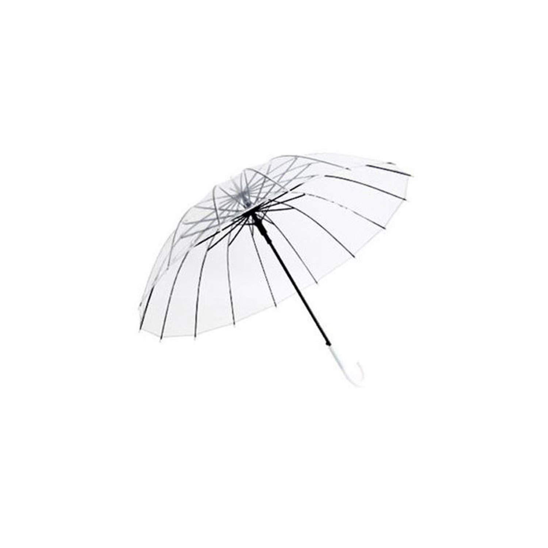 7c749a4025ed Amazon.com: Semi Automatic Transparent Umbrellas For Protect Against ...