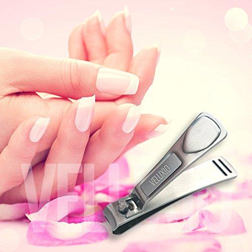 veluxio fingernail & toenail clippers