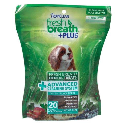 Tropiclean Fresh Breath Dental Treats – 20 Count, My Pet Supplies