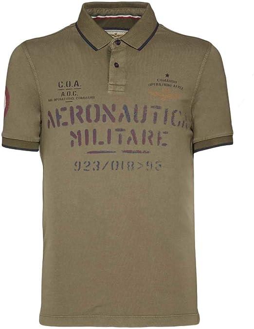 Aeronautica Militare Polo PO1348J Military, Jersey, Hombre ...