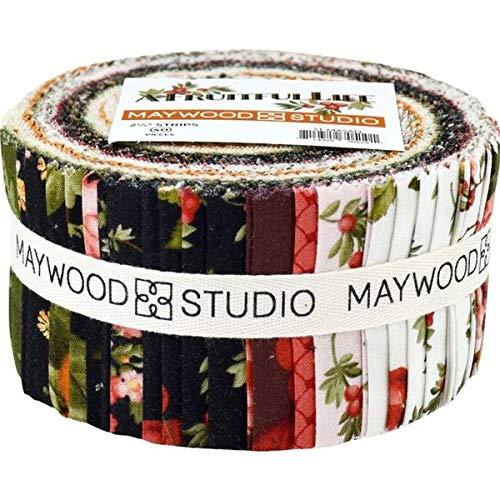 Fruitful Vine - A Fruitful Life Strips 40 2.5-inch Strips Jelly Roll Maywood Studio