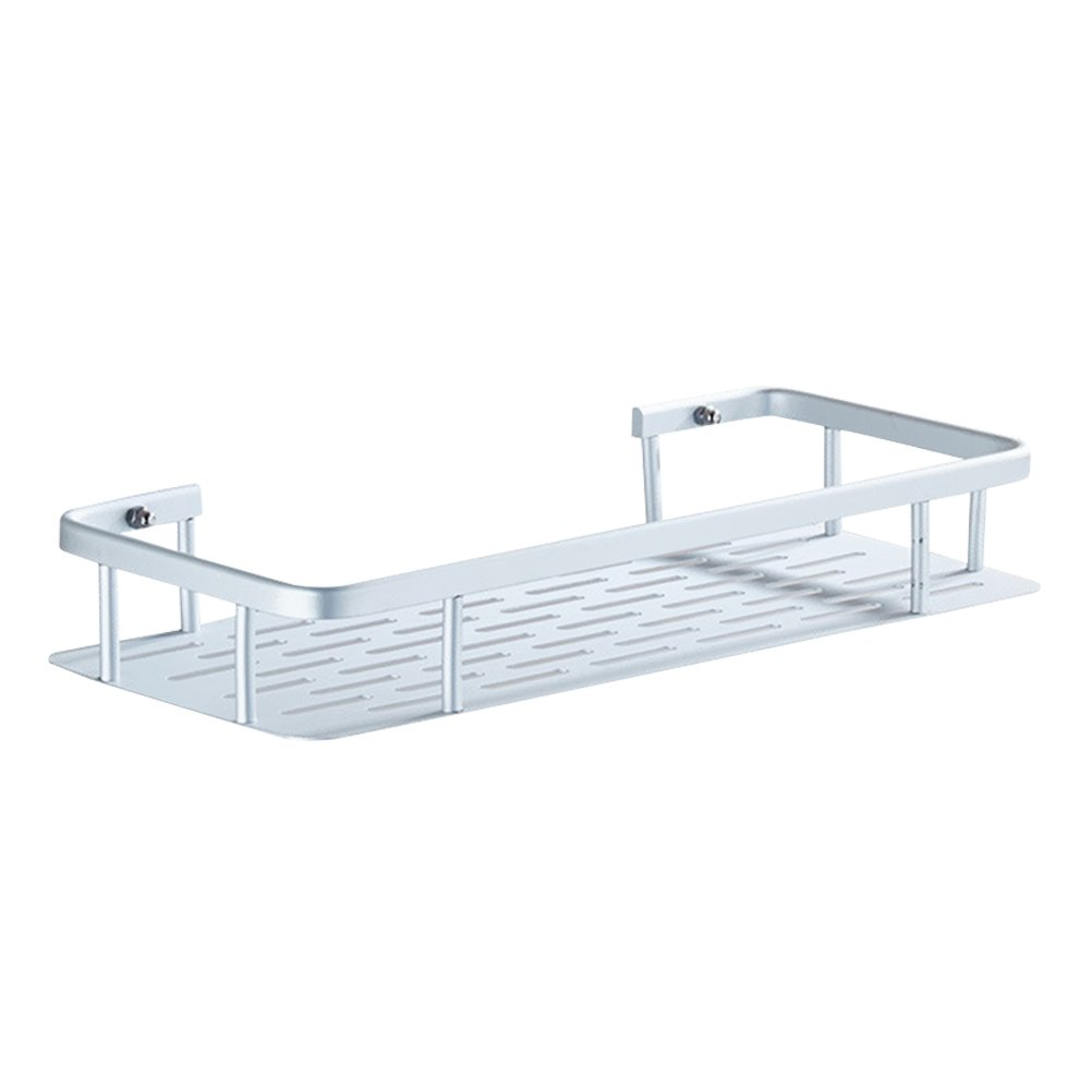 Mensola a ventosa BESTOMZ Mensola da bagno e cucina parete portaoggetti in alluminio