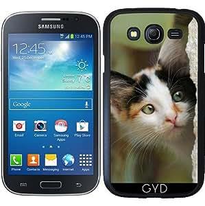 Funda para Samsung Galaxy Grand i9082 - Lindo Gatito Con Ojos Curiosos by Katho Menden