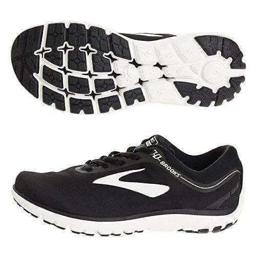 Brooks(ブルックス) メンズ 男性用 シューズ 靴 スニーカー 運動靴 PureFlow 7 - Black/White [並行輸入品]