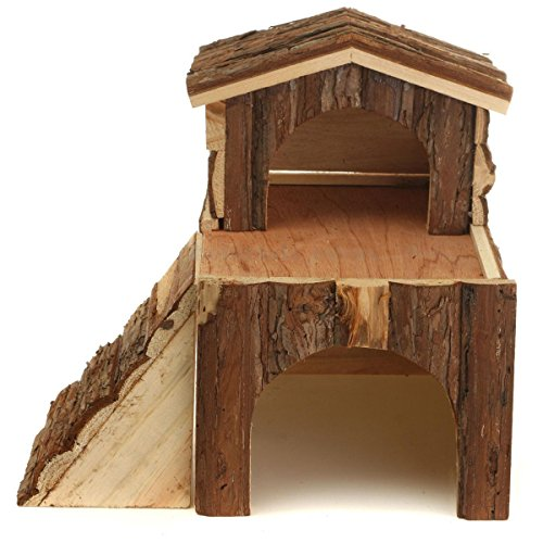 Hamster Igloo Transparent Two Story - 1