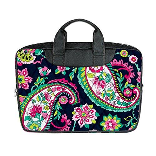 jiuduidodo-custom-flowers-nylon-waterproof-bag-computer-bag-handbag-for-laptop-156-twin-sides