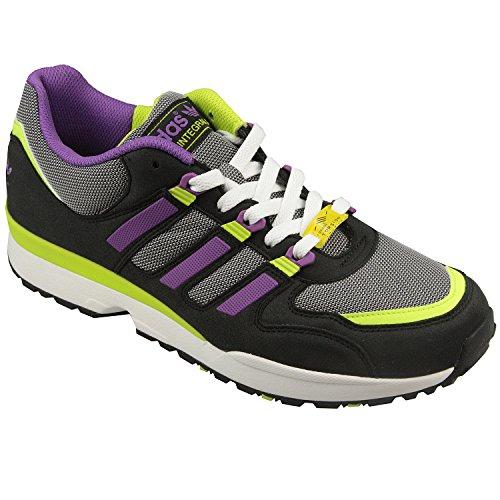 adidas - Zapatillas para hombre Black Purple Lime