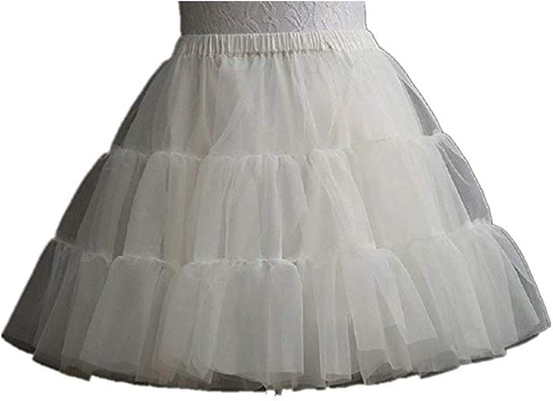 1*Children Kids Girl Petticoat Pannier Skirt 3 Hoops for Wedding Dress Party UK