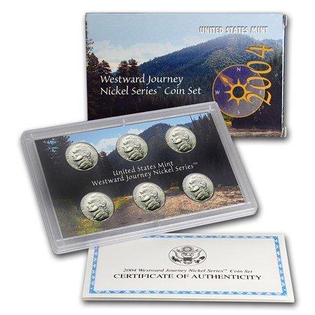 2004 Westward Journey Nickel Series United States Mint Gem Uncirculated ()