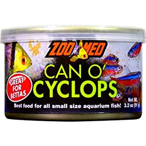 Can O' Cyclops 3.2 Oz - Small Fish, Coral & Invert Food Cyclopeeze - Zoo Med