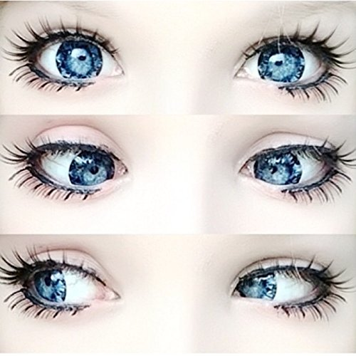 Dollyeye Ariale Blue Big Contacts Lashes Big Color Eyes Halloween