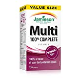 Jamieson 100% Complete Multivitamin for Women 50+, Value Size, 150 Count