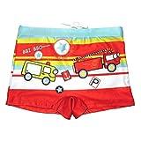 FloraFox Children Swimming Trunks Cartoon Car Swimming Shorts