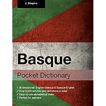 Basque Pocket Dictionary