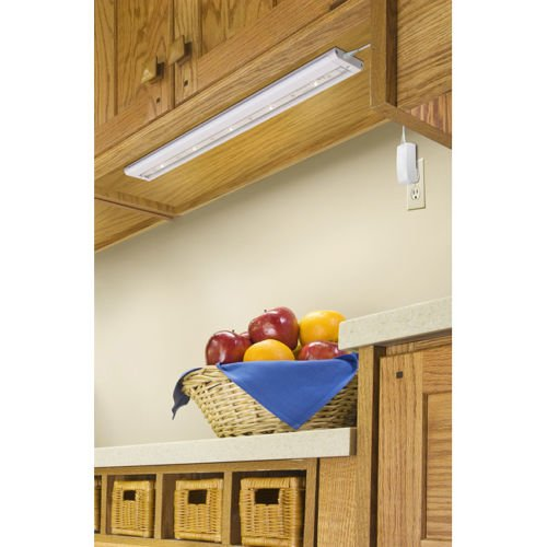 Under Cabinet Lighting Unit White LED 18 Inches Is a Key Tool in Saving Energy. Illuminates Cabinet Storage. This Under Cabinet Light Contains a Solid White Base with a Custom Design and Makes a Great Kitchen Accessory. Add to Your Kitchen Fixtures.