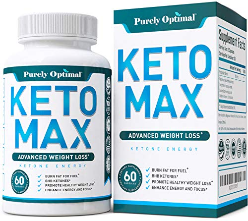 Premium Keto Diet Pills - Advanced Weight Loss - Burn Fat for Energy with Ketosis - Boost Metabolism, Energy, Focus - BHB Ketogenic Supplement for Women and Men - 30 Day Supply