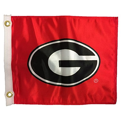 - NCAA Georgia Bulldogs Boat/Golf Cart Flag