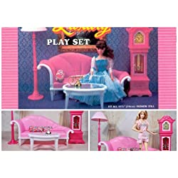 Barbie Size Dollhouse Furniture- Living Room Standing Grandfather Clock