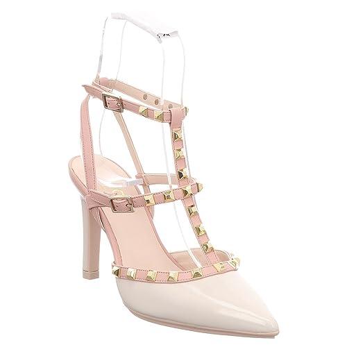 Charol Mujer Vestir Beige De Tp Zapatos Para Relix Lodi CrdtsxQh