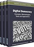 img - for Digital Democracy: Concepts, Methodologies, Tools, and Applications book / textbook / text book