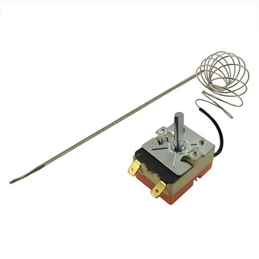 Spares2go Universal Horno Cocina Unidad De termostato con largo ...