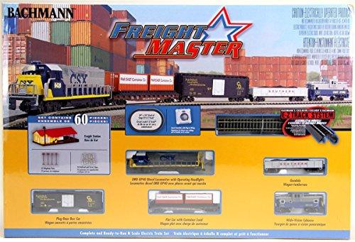 N Bachmann Train Scale Sets - Bachmann Industries Freightmaster Ready To Run 60 Piece Electric Train Set Train Car N Scale