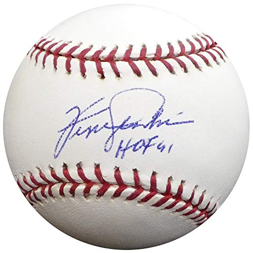 Fergie Jenkins Autographed Official MLB Baseball Chicago Cubs