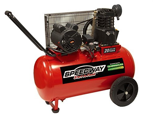 Speedway 51647 20 Gallon Electric Powered Portable Air Compr