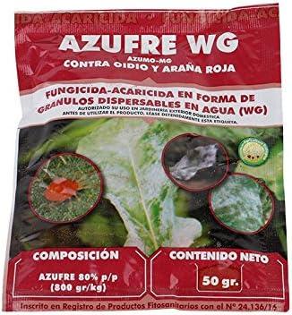 Azufre WG 50 gr - Fungicida Insecticida
