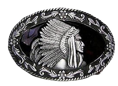 Apache Belt - ALBATROS Silver and Pewter Indian Cherokee Apache Belt Buckle for Home and Parades, Official Party, All Weather Indoors Outdoors