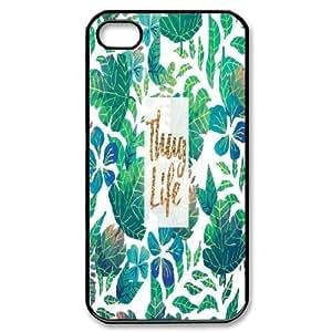 Custom Thug Life Plastic Case, DIY Thug Life Case for iPhone 4,4S