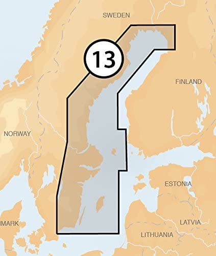 Navionics Platinum+ 13P+ SWEDEN EAST COAST Marine Charts on SD/MSD: Amazon.es: Deportes y aire libre