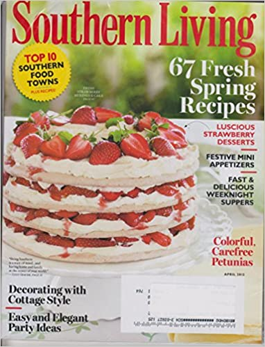 Southern Living April 2012 67 Fresh Spring Recipes Top 10 Southern