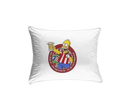 CamisetasATM1903 Cojín con Relleno Atlético de Madrid Hommer ...